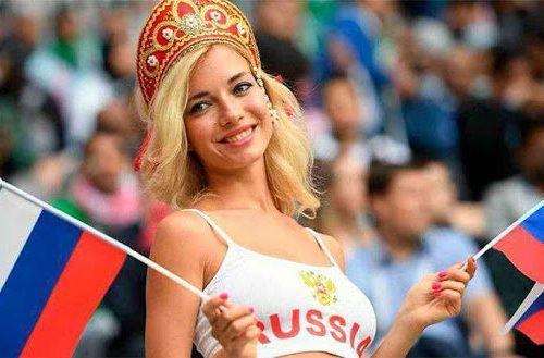 Наталья Немчинова – самая красивая российская болельщица ЧМ по футболу-2018